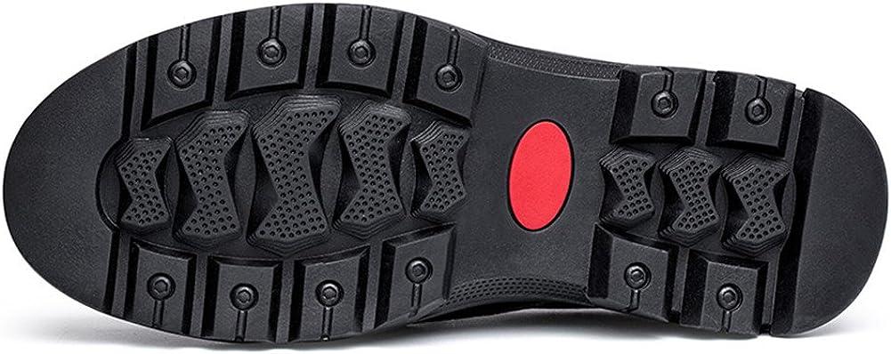 ailishabroy c Plats d/écontract/és pour Hommes Glisser sur la Conduite de la Chaussure de Mode en Cuir Noir Chaussures Richelieus