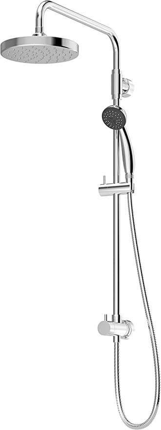 Symmons 36EX-SQ1-STN Duro 1-Spray Hand Shower Head Combo Kit in Satin Nickel