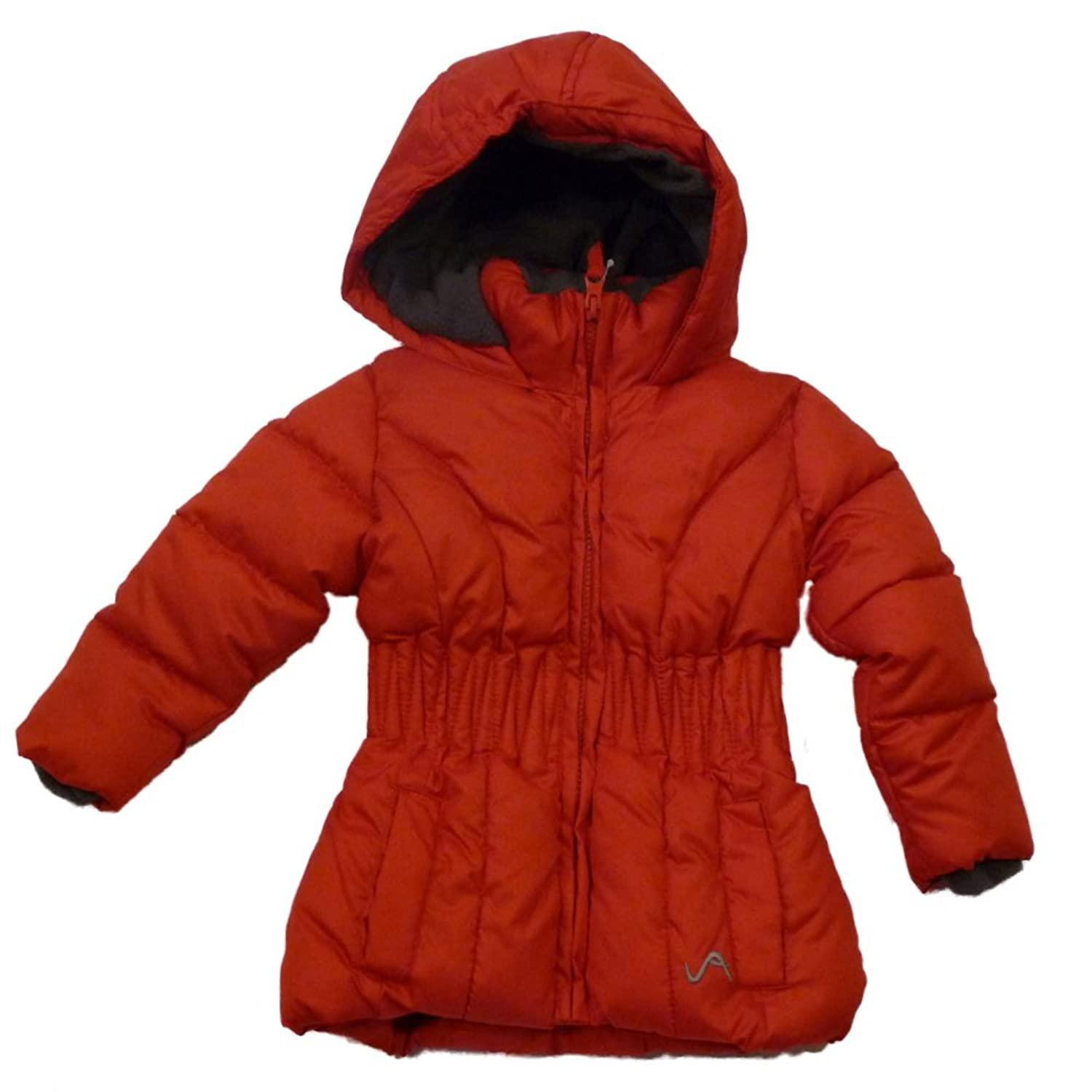 Amazon.com: Vertical 9 Infant Girls Red Winter Ski Jacket Hooded ...