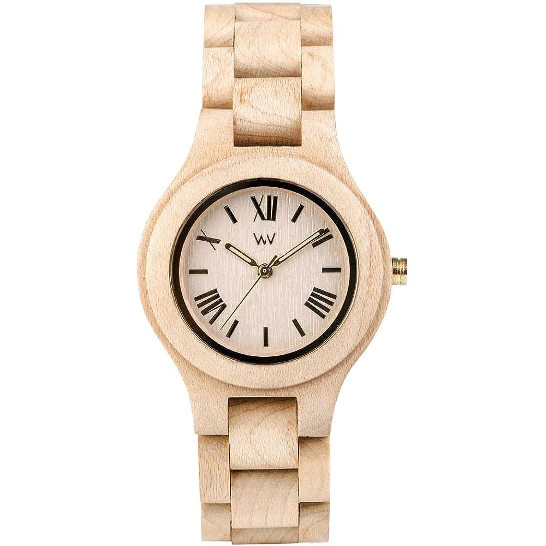 [ウィウッド]WEWOOD 腕時計 ウッド/木製 ANTEA BEIGE 9818127 レディース 【正規輸入品】 B00DYQJW6K