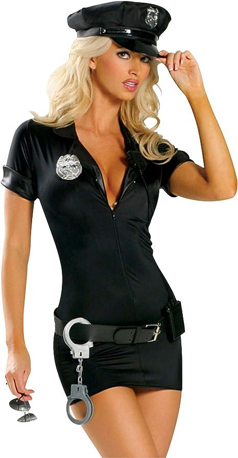 Disfraz de policía sexy para mujer, vestido de policía, uniforme ...