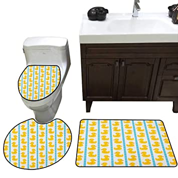 Fabulous Amazon Com Moeeze Home Rubber Duck Custom Toilet Seat Cover Gamerscity Chair Design For Home Gamerscityorg