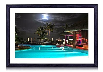 Amazon Com Beautiful Night In A Tropical Resort Beach