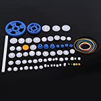 Plastic Gears Set Pulley Belt Worm Kits Crown