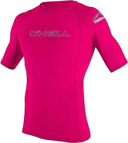 ONEILL WETSUITS ONeill - Camiseta de Neopreno Juvenil con protección UV, Manga Corta, Cuello Redondo: Amazon.es: Ropa y accesorios