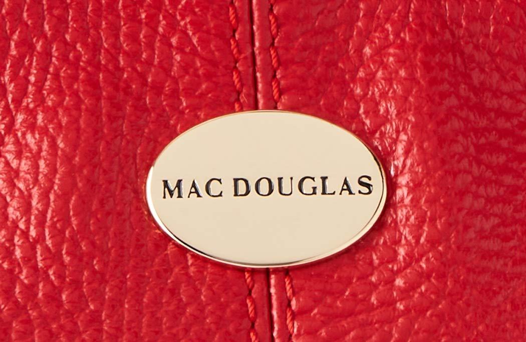 Mac Douglas lädervaror Megalo VÄSKOR Svart