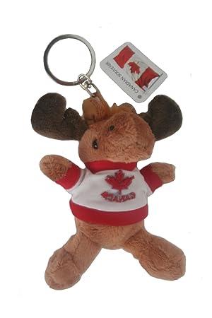 Canada Moose Plush Toy Keychain .. Size   11.5 Cm .. New  Amazon.ca ... beb8bf8d71d1