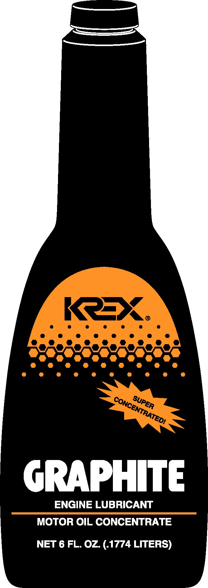 Krex Graphite Engine Lubricant 6 Fl. Oz. - 1 Bottle product image