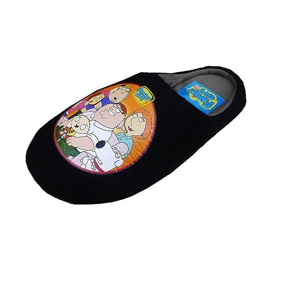 Hommes Licence Officielle Family Guy TV Pantoufles - Noir, 44-45:  Amazon.fr: Chaussures et Sacs