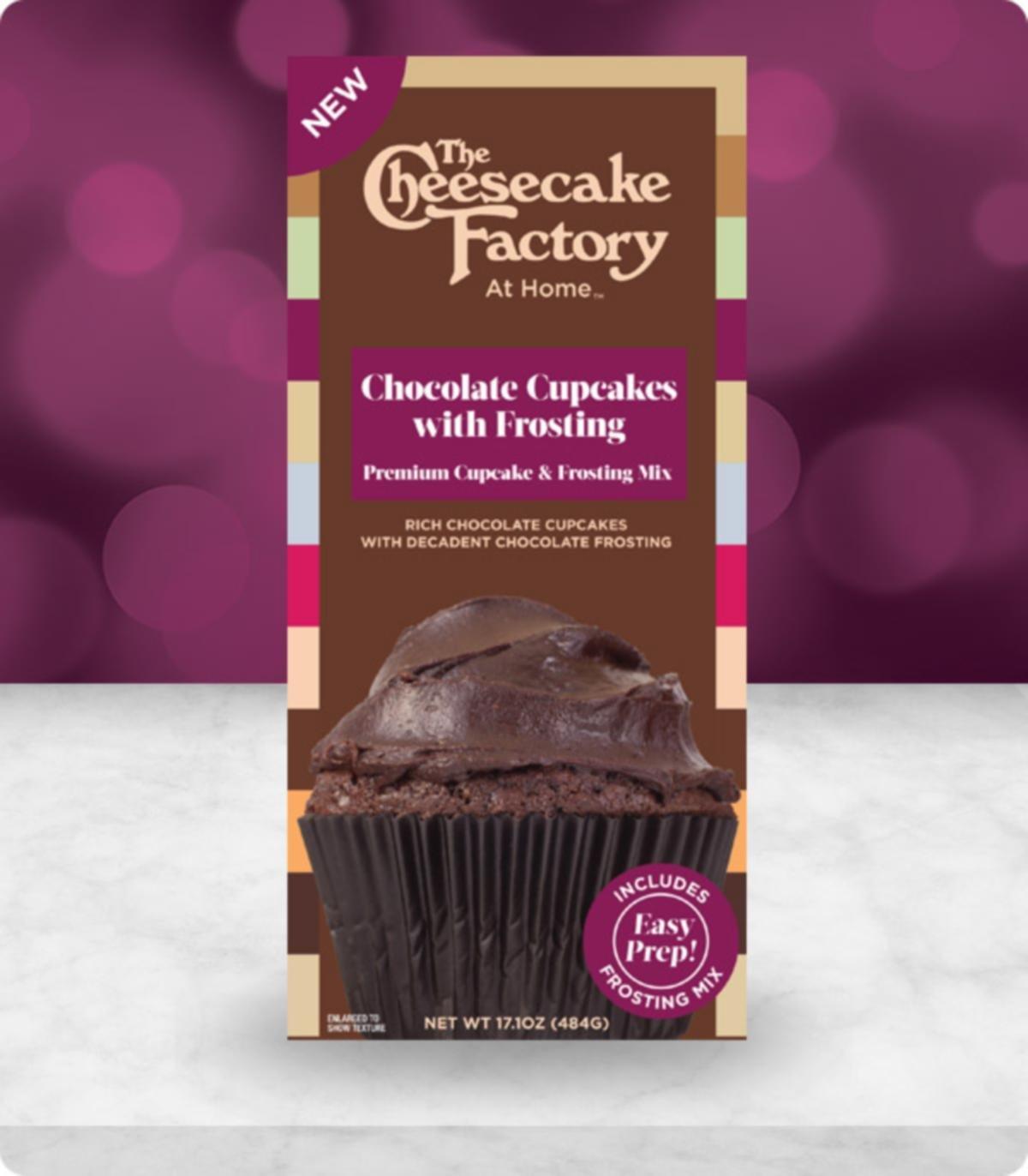 Amazon.com : The Cheesecake Factory at Home Premium Cupcake ...