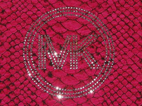 Michael Kors Studed logo tee - Snake Skin Pattern ...