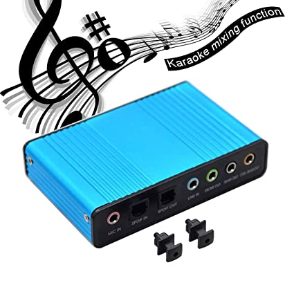 Adaptador de Audio para Tarjeta de Sonido Digital óptico de ...
