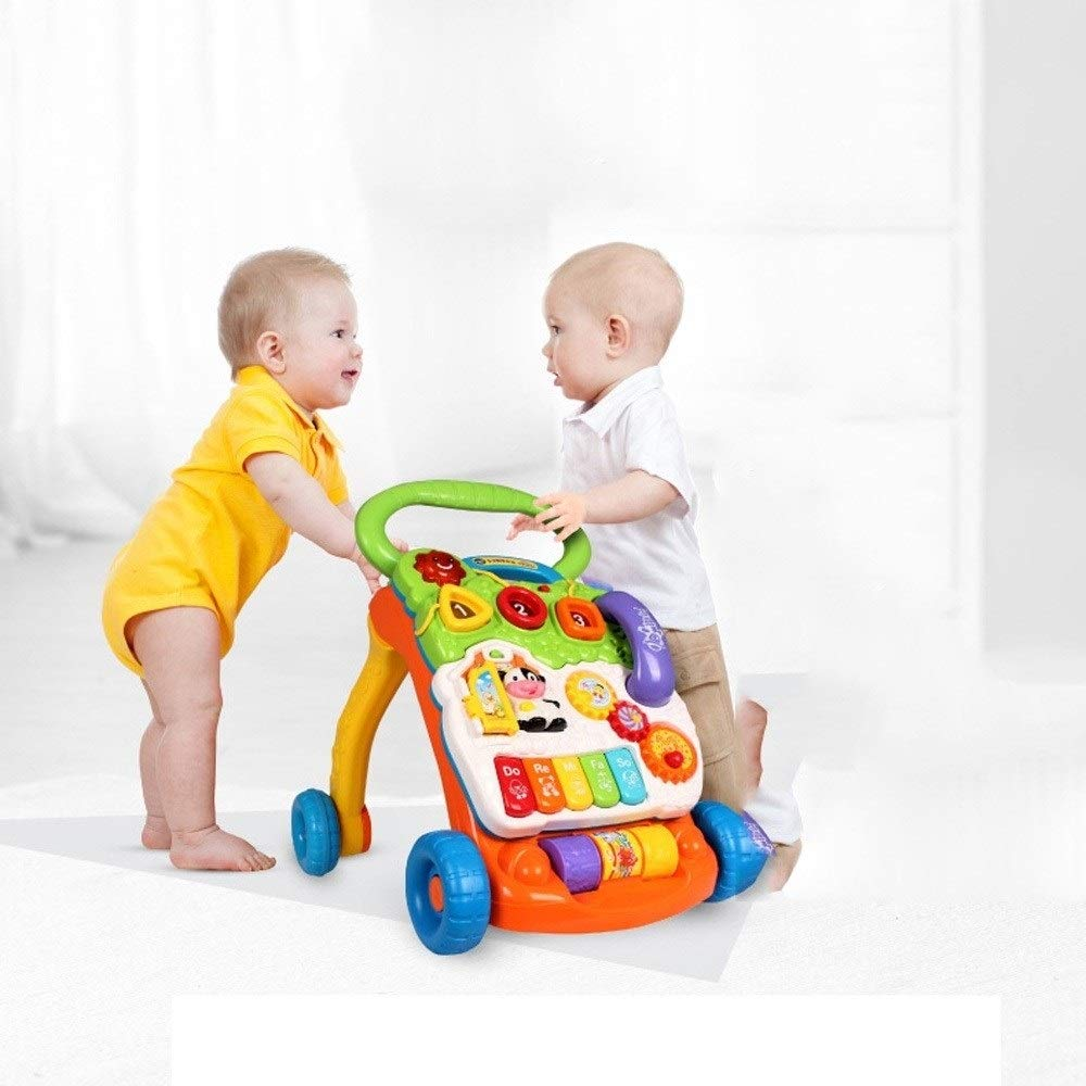 OATL Pink Orange Baby Walker Trolley Inteligencia de Desarrollo ...