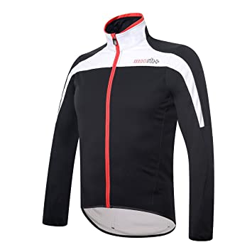 RH + Space Jacket blk-WH-Red S, Chaquetas (Ciclismo) Hombre, Black-White-Red, S: Amazon.es: Deportes y aire libre