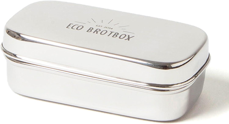 Snackbox XL ECO BROTBOX Edelstahl Lunchbox frei von Kunststoff
