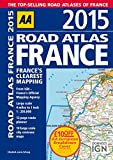 AA Road Atlas France 2015 Spiral