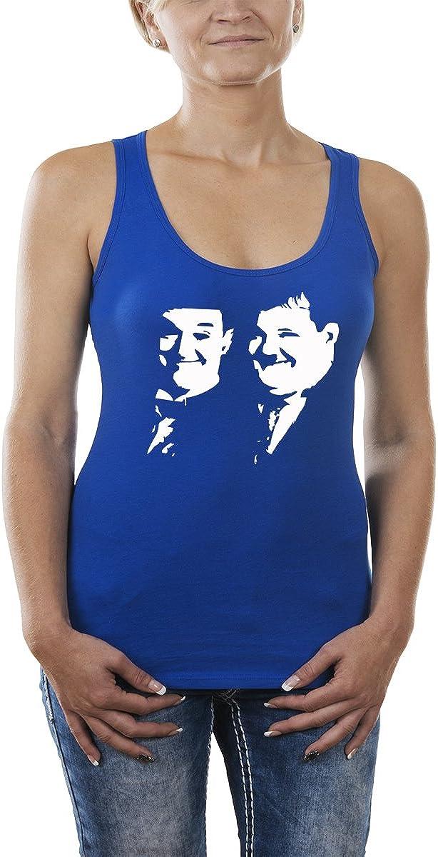 Fred Hayman Touch Dick und Doof Camiseta para Mujer