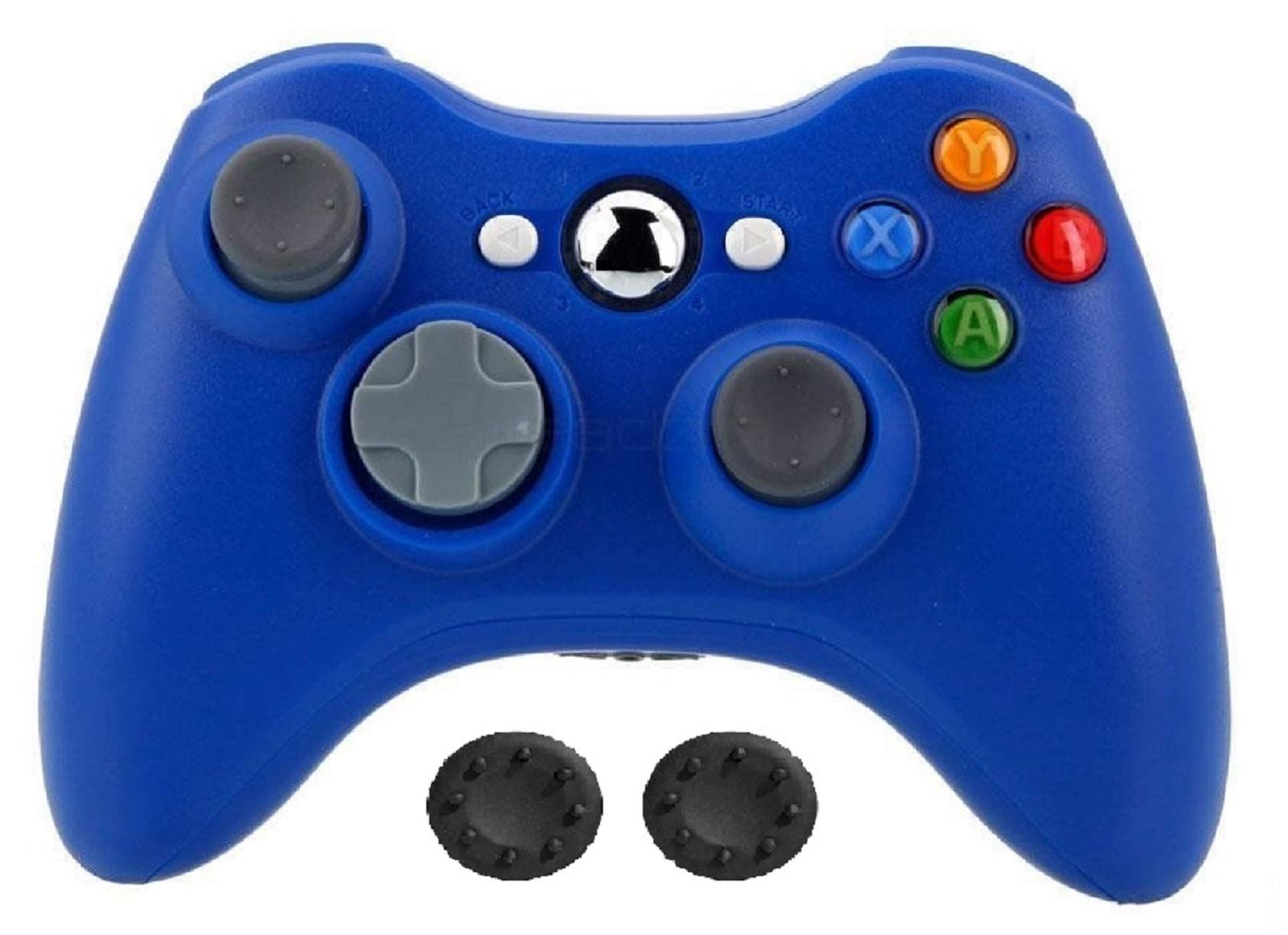 Bek Design Wireless Controller Game Pad Color for Xbox 360 (Blue)