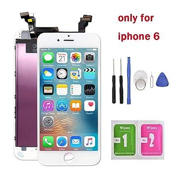 """9f302f850f5 Fly-all Pantalla Táctil LCD para iPhone 6 4.7"""" Reemplazo Pantalla LCD  Pantalla Táctil"""