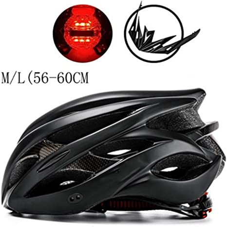 MOLDERY Diseño Mate Negro Bicicleta Cascos MTB Mountain Road ...