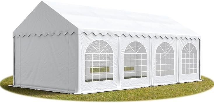 TOOLPORT Carpa de Fiesta 4x8 m Lona PVC 500/m² 100% Impermeable ...