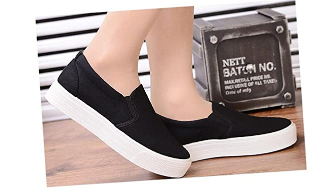 Amazon.com | Zarachielly Womens Casual Sneakers Fashion Lace up Hidden Heel Platform Sneaker | Fashion Sneakers