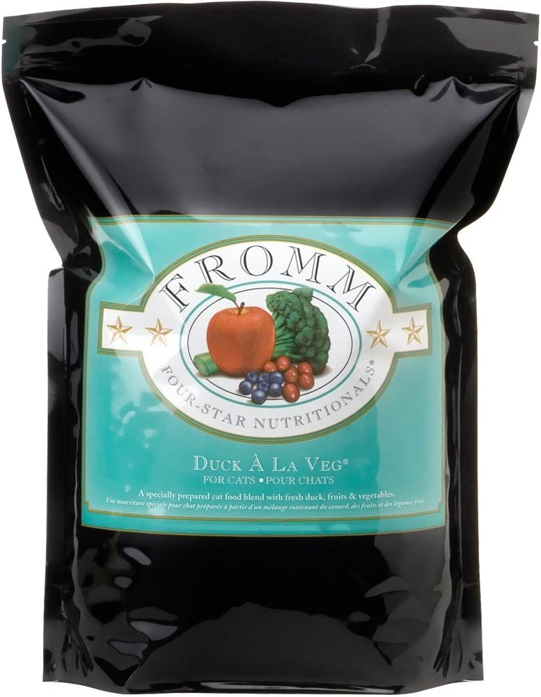 Fromm Four-Star Nutritionals Duck a La Veg Dry Cat Food, 2.5-Pound Bag