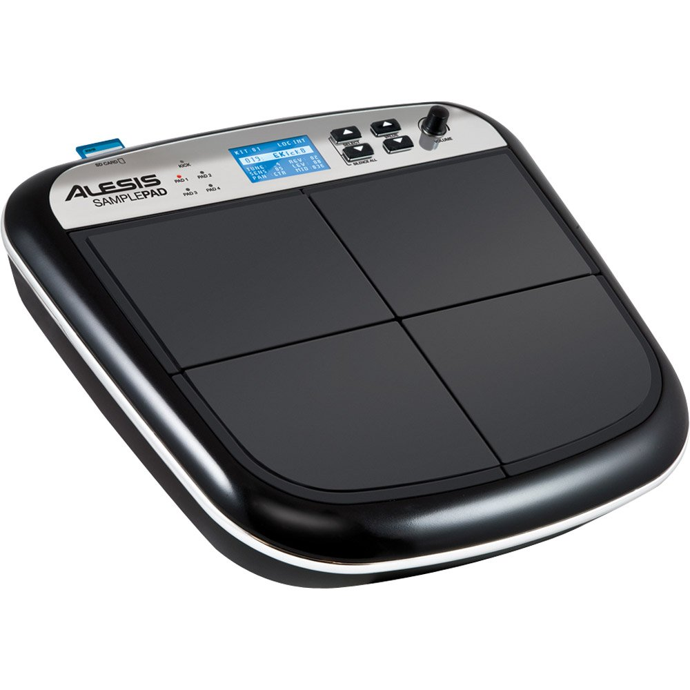 Alesis SamplePad | Compact 4-Pad Electronic Drum and Sample Instrument [2012 model] by Alesis