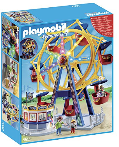 PLAYMOBIL® Ferris Wheel with Lights Set