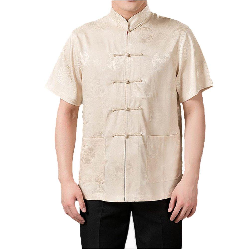Amazon.com: fangner ropa de traje de Tang chino para hombre ...