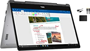 "Dell Inspiron 2-in-1 13.3"" FHD IPS Touchscreen LED Backlight Premium Laptop Bundle Woov Accessory 