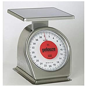 Rubbermaid Commercial Products FG840SW Washable Food Service Mechanical Portion Control Scale, Rust-Proof, 40 lb.