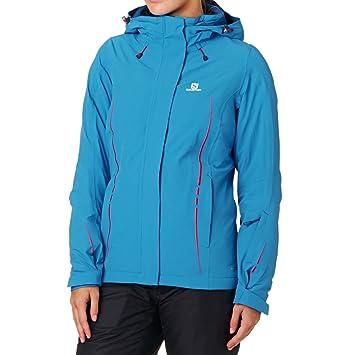 5f0ea77389a4 Salomon Icestorm Women s Ski Jacket In Methyl Blue  Amazon.co.uk  Sports    Outdoors