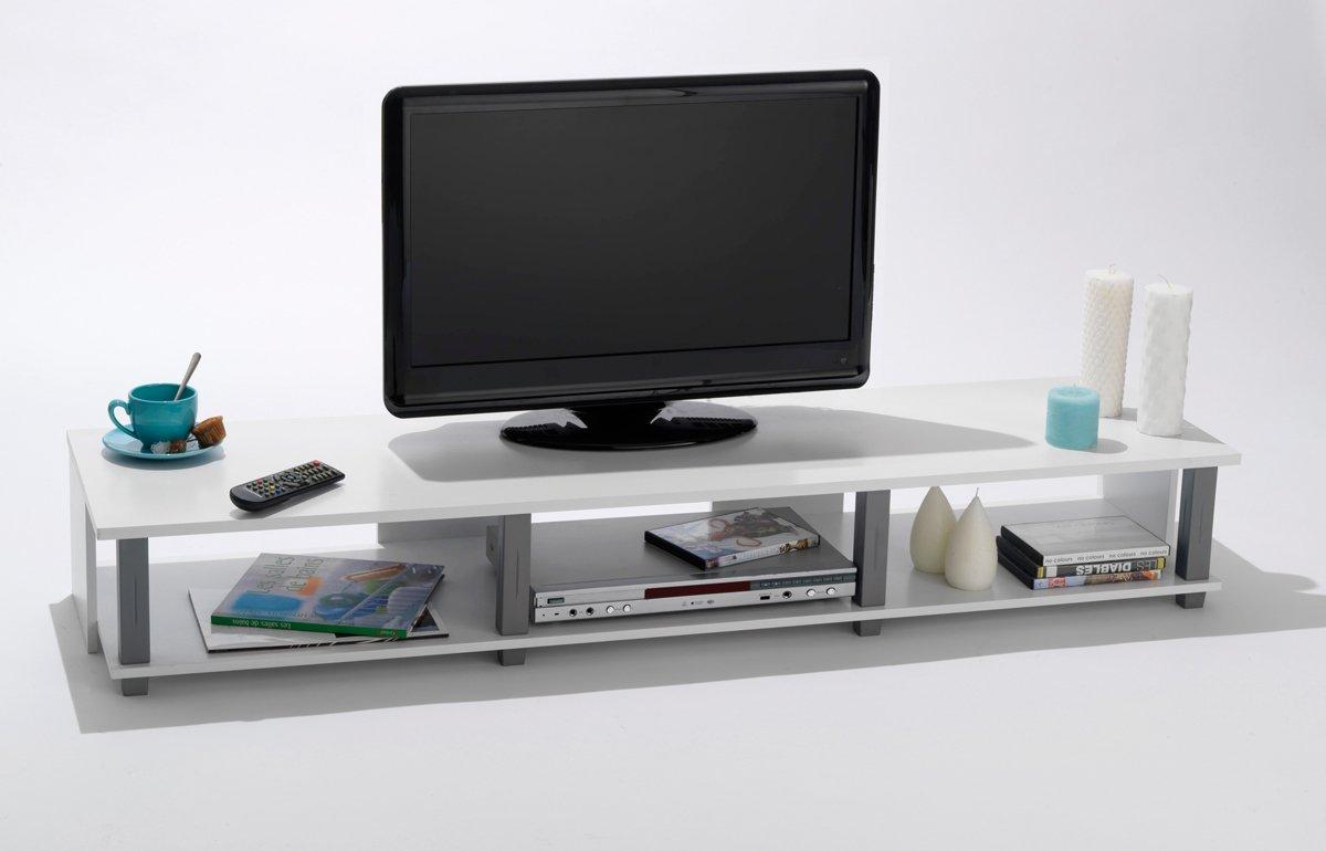Ansprechend Hifi Regal Holz Galerie Von Tv-bank Initial #27 Weiß Tv Tisch Phonomöbel