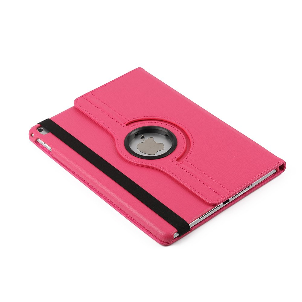 iPad Pro 10.5'' Case,taStone Smart Lightweight Cover Slim Sleeve 360 Degree Rotating Case Protection Rugged Protective Poplular Cover for iPad Mini Pro 10.5 Tablet 10.5 inch,Hot Pink