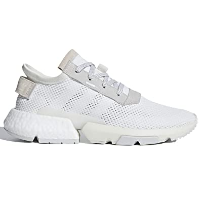 the latest 8260a 6ffc9 adidas POD S3.1 Mens in White Grey, 7.5