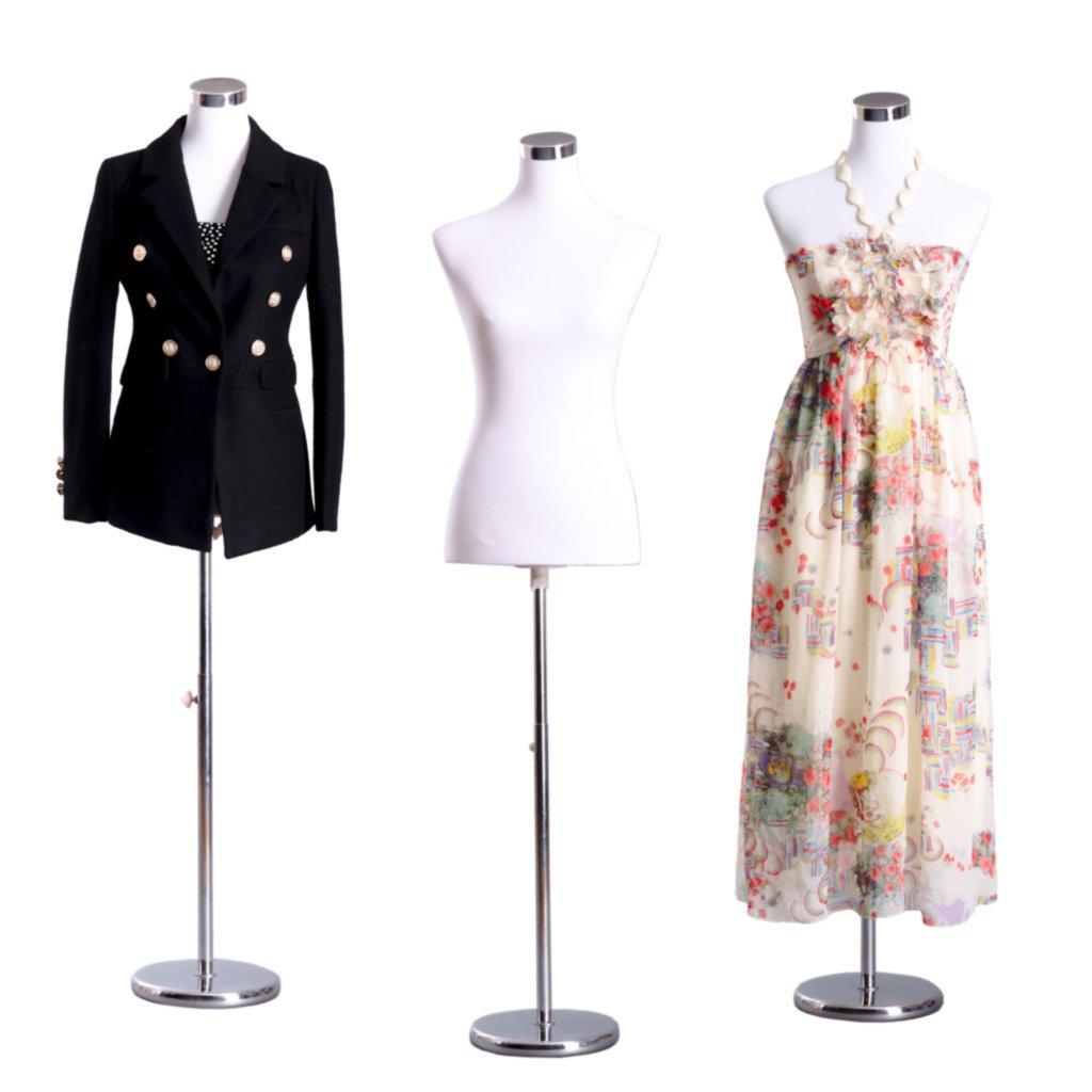 Dress Form Torso - PB-88 AMT Mannequins PB-88_TORSO_FEMALE