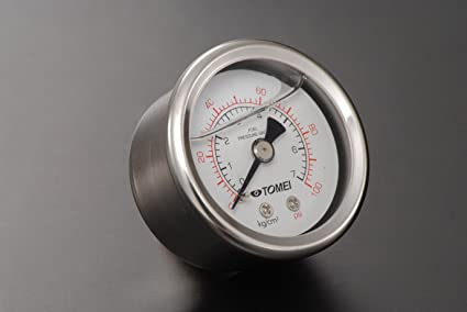 61oZVvdAPNL._SX425_ amazon com tomei fuel pressure guage fuel line automotive
