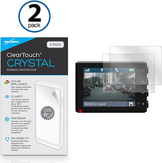 High Transparency Multitouch Optimized upscreen Scratch Shield Clear Screen Protector for Garmin Dash Cam 65 Strong Scratch Protection