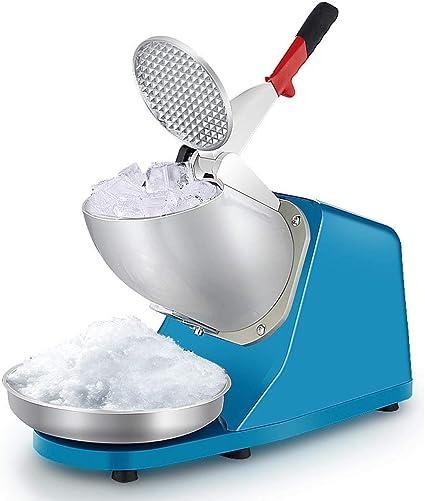 Trituradora de hielo eléctrica, máquina de hielo de acero ...