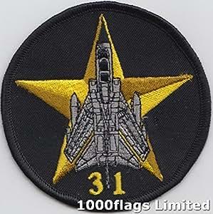 31 operaciones Tornado escuadrón ninguìn RAF bordadas Badge remiendo