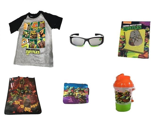 eb14b39b0fa6 TMNT Teenage Mutant Ninja Turtles T-Shirt Sunglasses Dog Tags Swim   Tote  Bag (