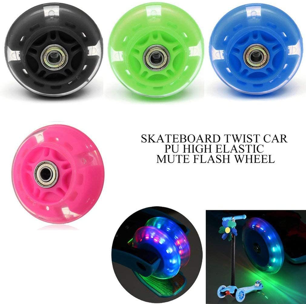 Loppers CHERIST 80mm 100mm 120mm Scooter Wheel LED Flash Light Up ...