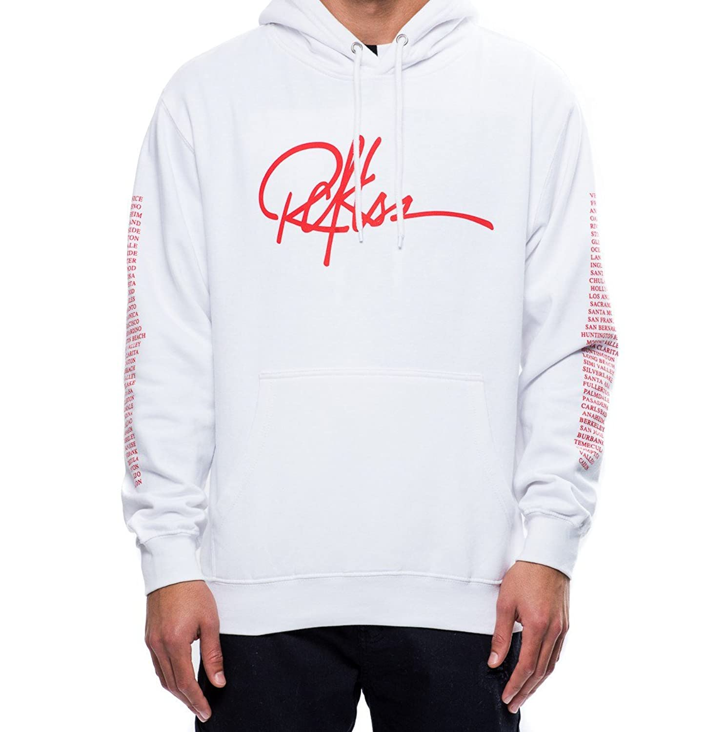 2ebd9388614587 free shipping Young and Reckless - Insignia Hoodie- White - - Tops - Hoodies