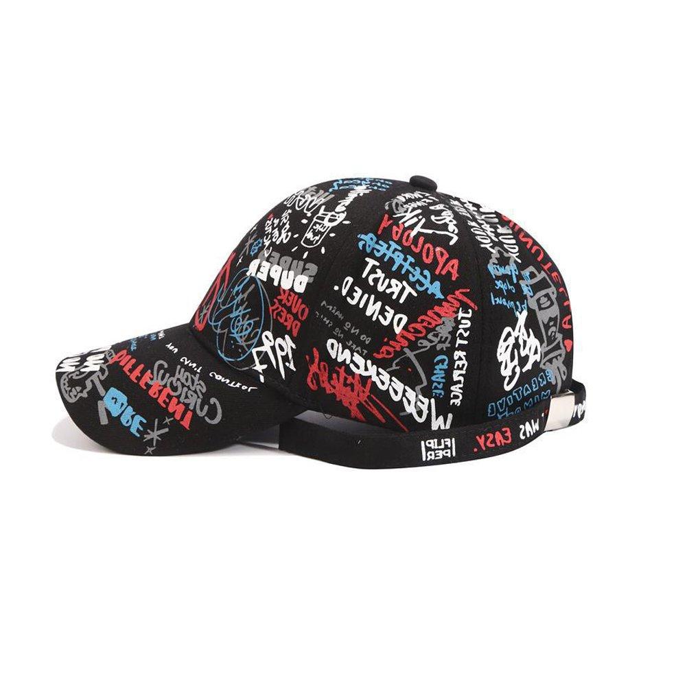 f23167d5aaa967 Xuzirui G-Dragon Live Baseball Cap Bigbang Cap Outdoor Character Writting  Hat Casual Adjustable Dad Hat Hip Hop Hat (Adjustable, Black- Writings) at  Amazon ...