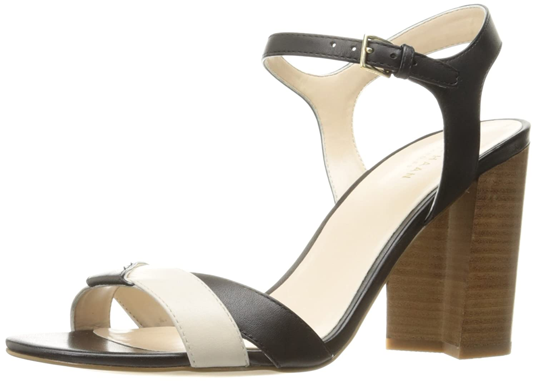 Cole Haan Women's Florena Ii Platform Dress Sandal B01MRXXOFG 5.5 B(M) US|Black/Ivory