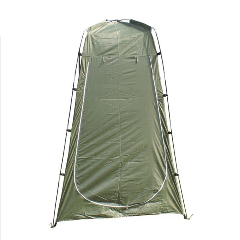 Yiwa Tragbare Wickelunterlage Dressing Armatur Zimmer Camping Dusche Zelt leicht Vorzelt Leinwand Faltbar Outdoor Innen WC-Raum