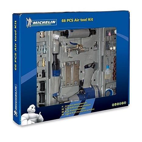 MICHELIN Kit de Herramientas neumáticas 66 Piezas Michelin-6010970000