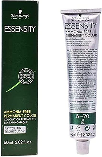 Schwarzkopf Professional Essensity Permanent Color Ammonia Free Tinte Tono 6-0 - 63 ml