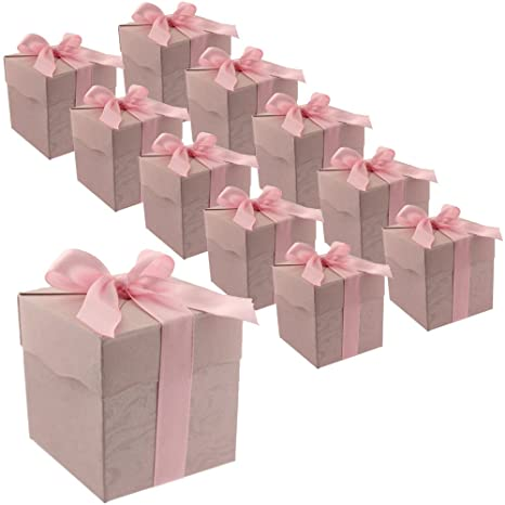 Amazon.com: 30 Rosa Cute Papel Fiesta Bolsas De Favor ...